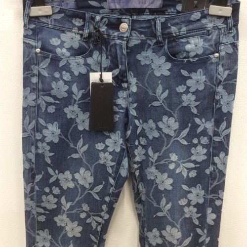 Jeans stampa fiori Guess-Stock The Look