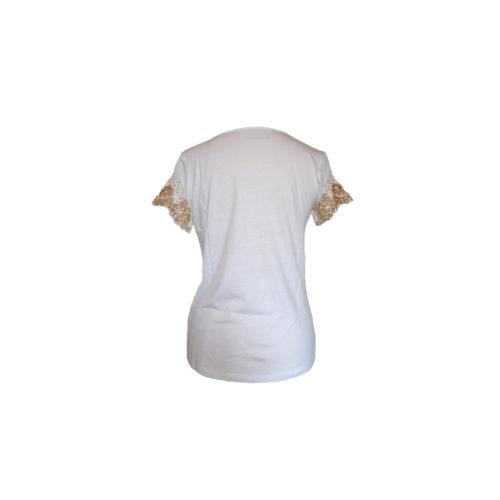 T-shirt con ricamo Maison Espin - Stock The Look